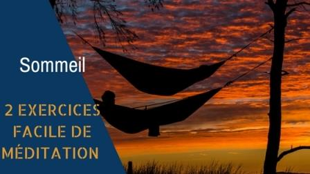 méditation et sommeil